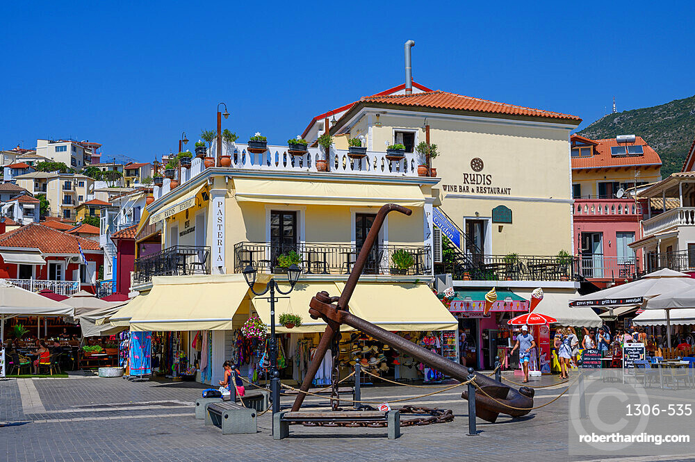 The town of Parga in summer, Parga, Preveza, Greece