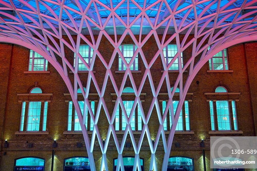 King's Cross Railway Station, London, England, United Kingdom, Europe