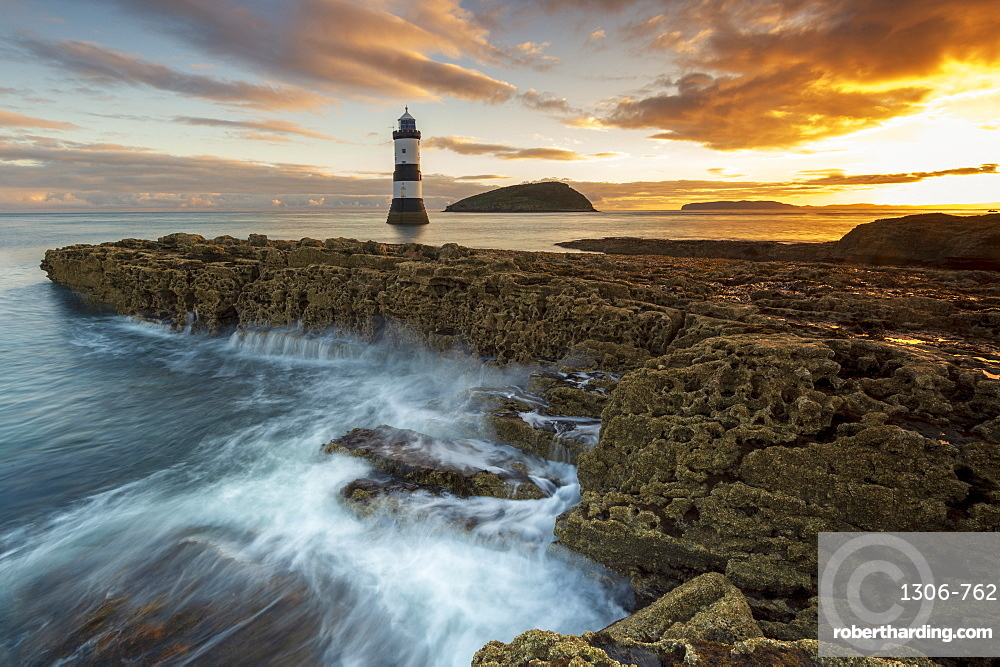 Penmon Point lighthouse, Anglesey, North Wales, United Kingdom