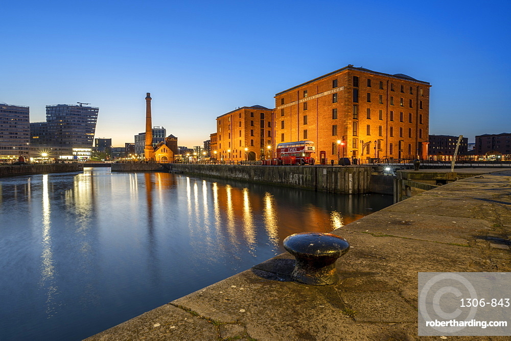 The Merseyside Maritime Museum and Pump House at the Albert Dock, Liverpool, Merseyside