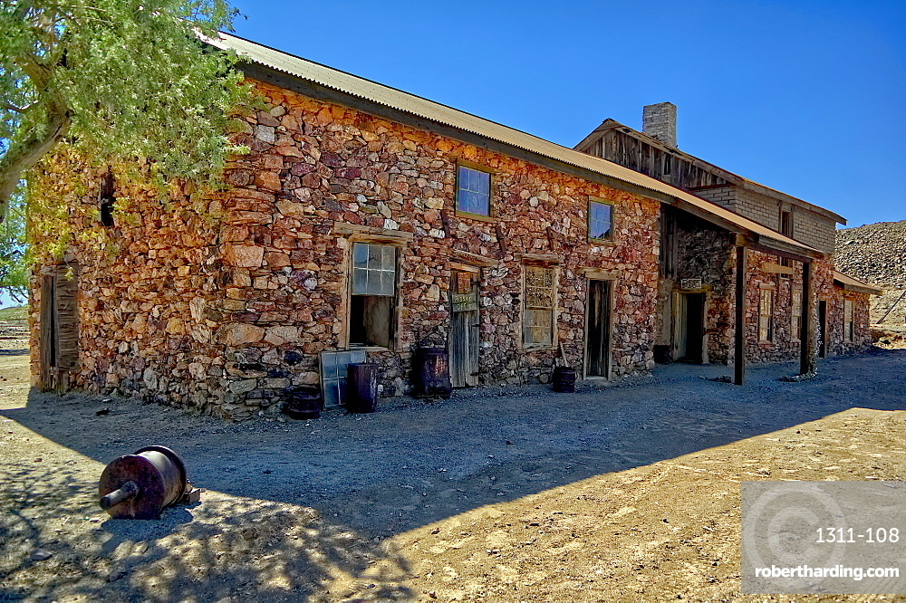 The Assay Office in the ghost town of Vulture City, near Wickenburg, Arizona, United States of America, North America