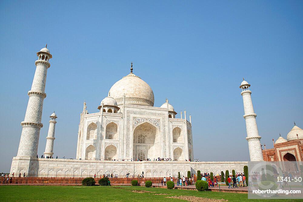 Taj Mahal, UNESCO World Heritage Site, Agra, Uttar Pradesh, India, Asia