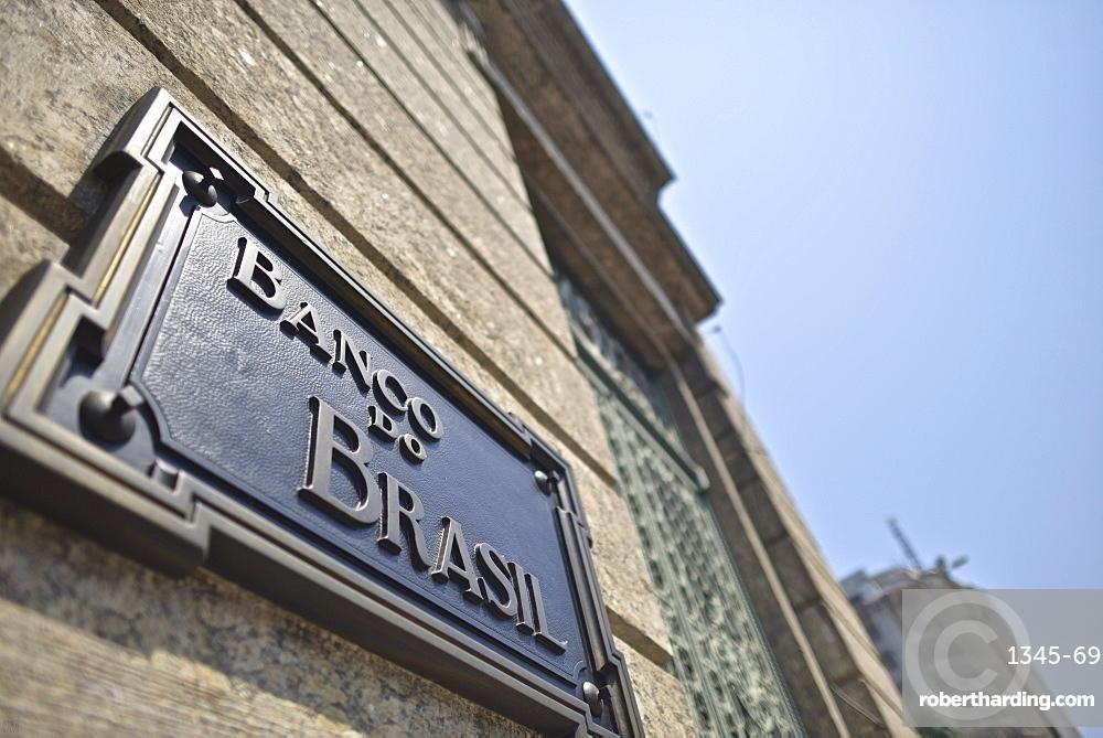 Headquarters of Brazil's National Bank, Rio de Janeiro, Brazil