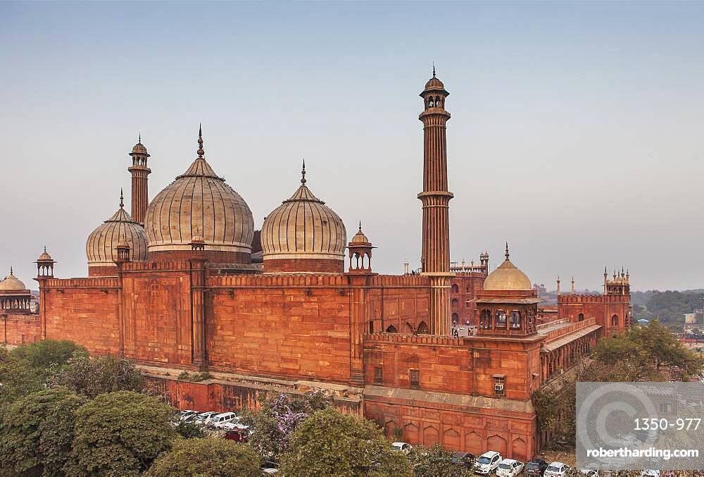 Jama Masjid mosque, Delhi, India