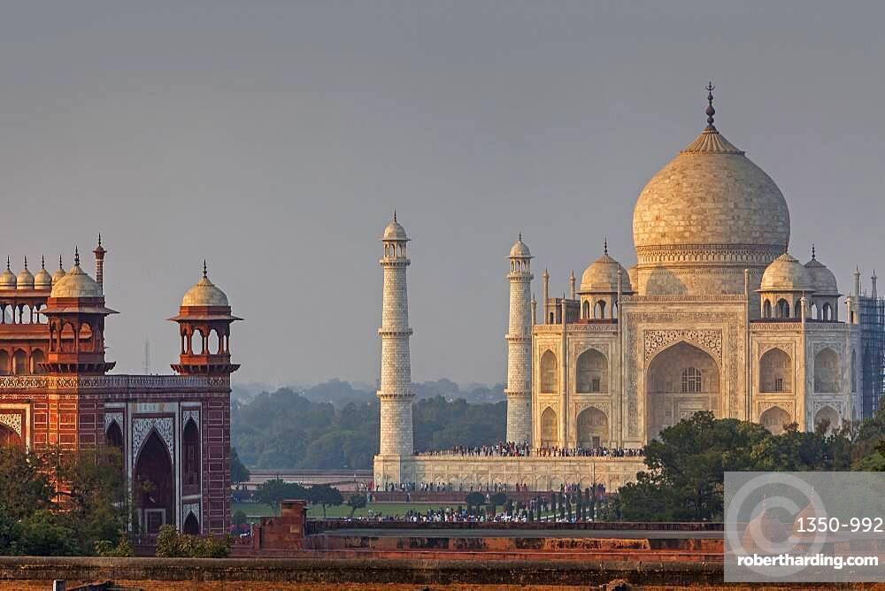Taj Mahal, UNESCO World Heritage Site, Agra, Uttar Pradesh, India