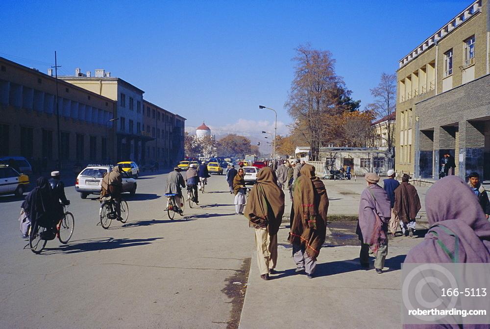 Street scene, Kabul, Afghanistan