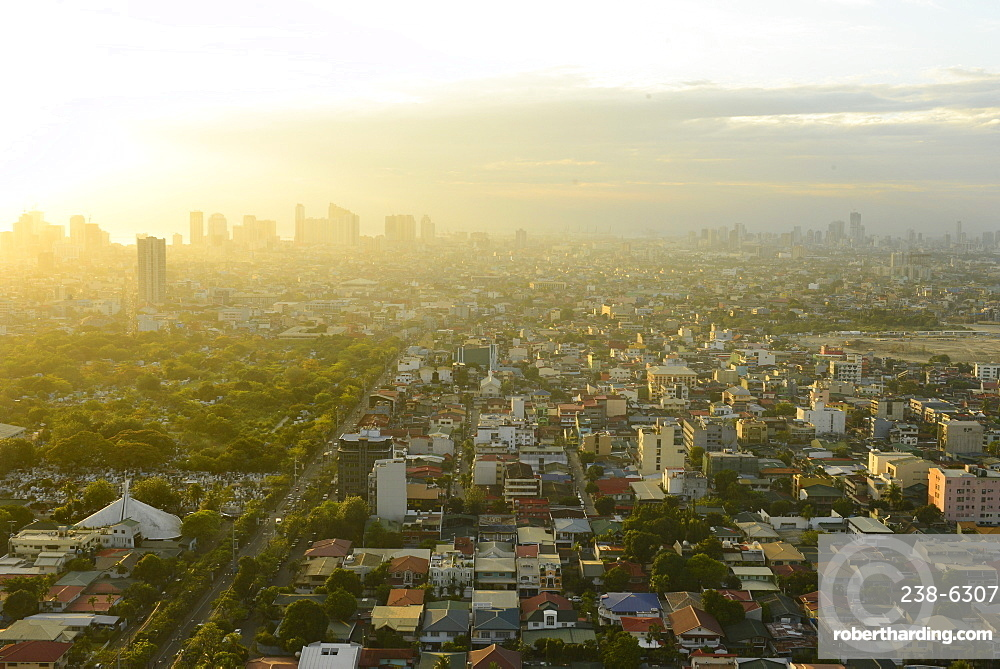 View of Makati, Metromanila, Manila, Philippines, Southeast Asia, Asia
