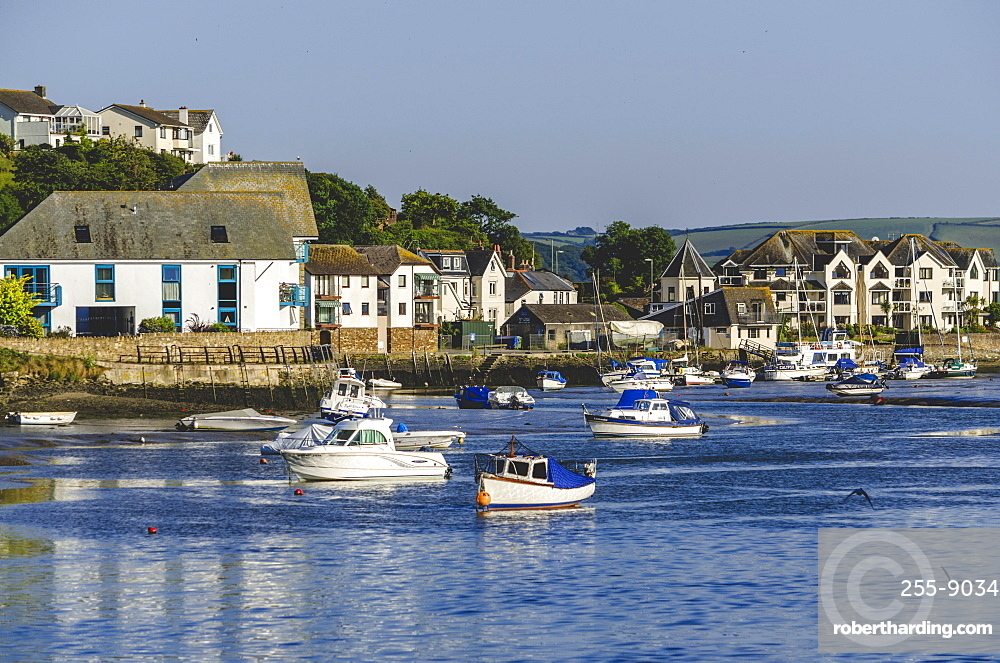 Town Quay on the Kingsbridge Estuary, Kingsbridge, Devon, England, United Kingdom, Europe