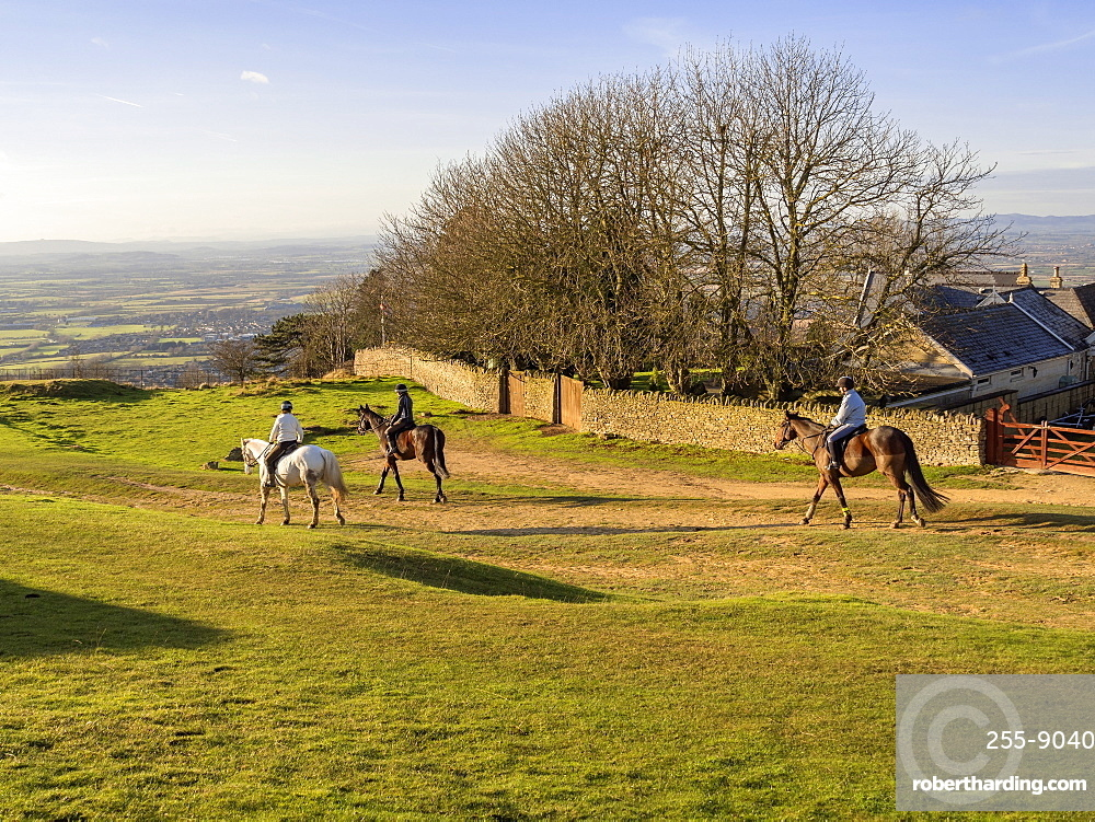 Cleeve Hill, Gloucestershire, the Cotswolds, England, United Kingdom, Europe