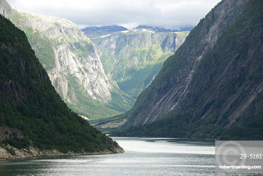 Eidfjord, Hardangerfjord, Norway, Scandinavia, Europe