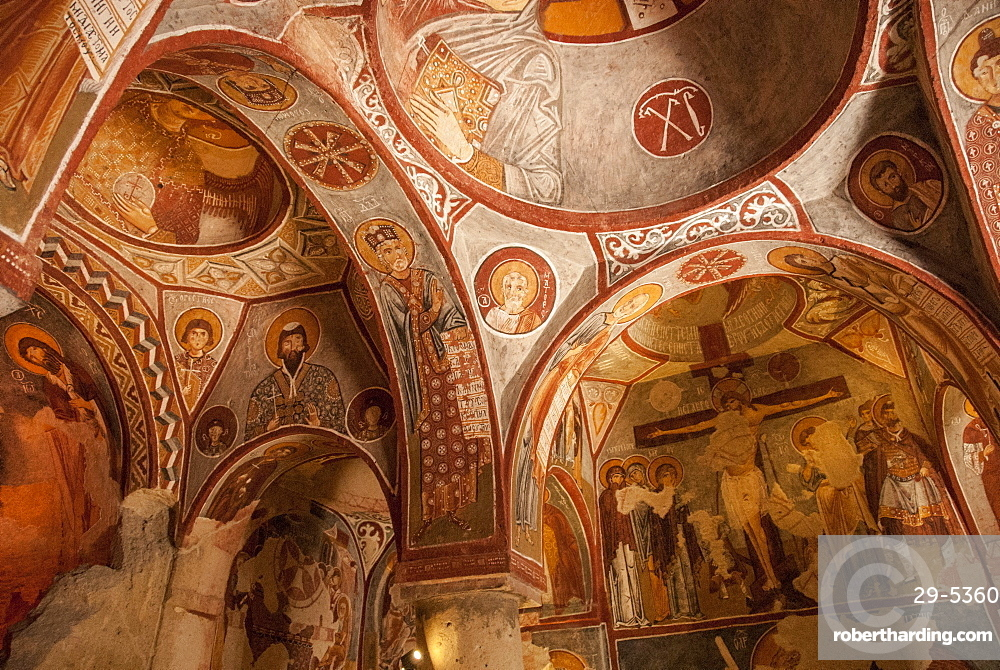 Apple Church, Goreme, UNESCO World Heritage Site, Cappadocia, Anatolia, Turkey, Asia Minor, Eurasia