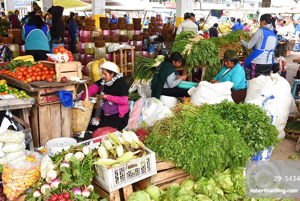 Thursday markets, Saquisili, Ecuador, South America