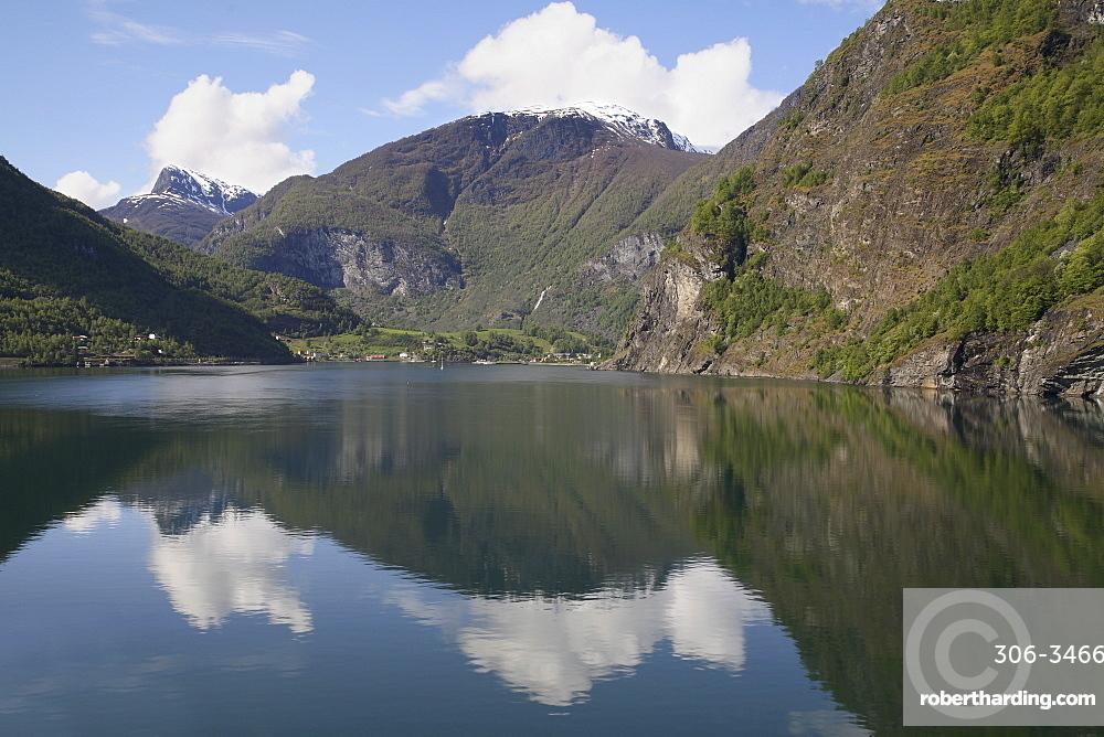 Flaam, Sogenfjord, Norway, Scandinavia, Europe