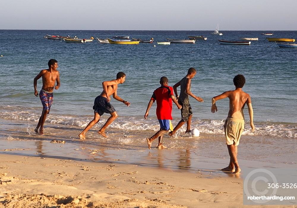 Santa Maria beach, Sal, Cape Verde Islands, Atlantic, Africa