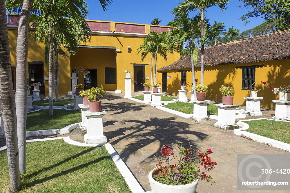 Quinta San Pedro Alejandrino, where Simon Bolivar died, Santa Marta, Magdalena, Colombia, South America