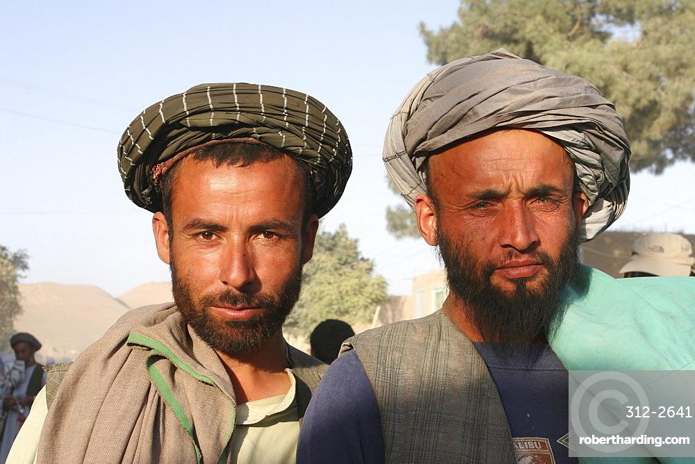 Local men, Maimana, Faryab Province, Afghanistan, Asia