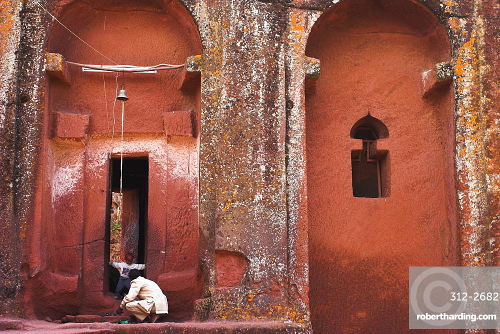 Bet Gabriel-Rufael, Lalibela, UNESCO World Heritage Site, Ethiopia, Africa