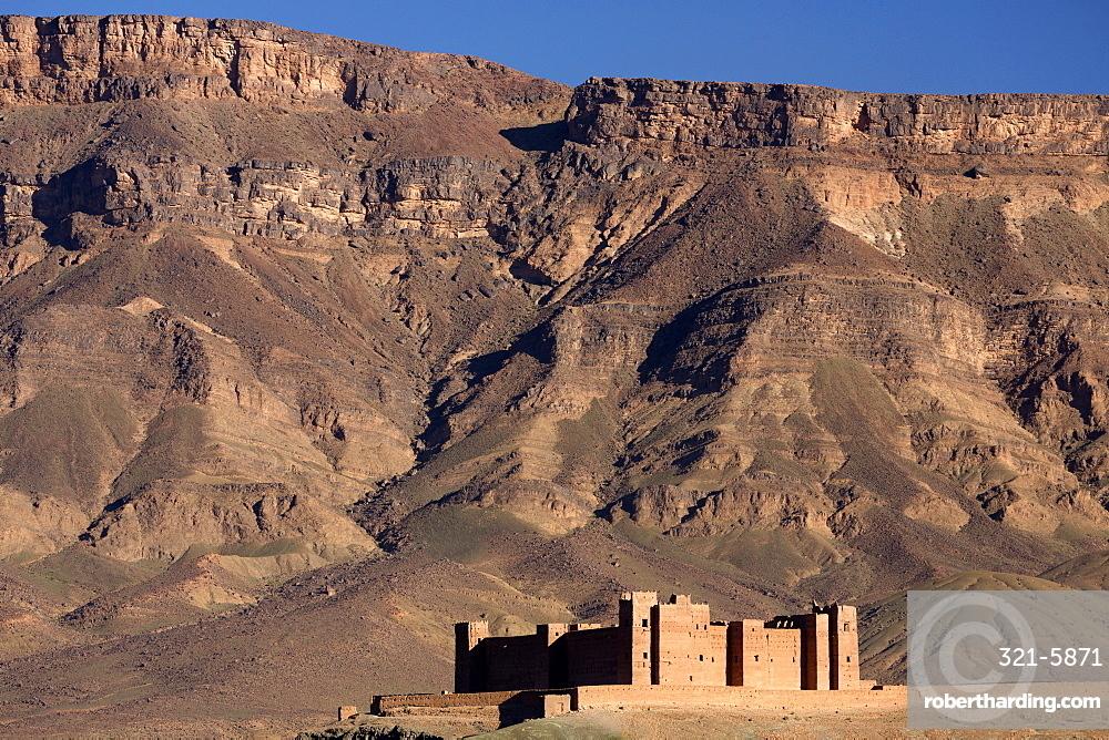Tamnougalt Kasbah the Draa valley, near Agdz, Morocco, Africa, North Africa, Africa