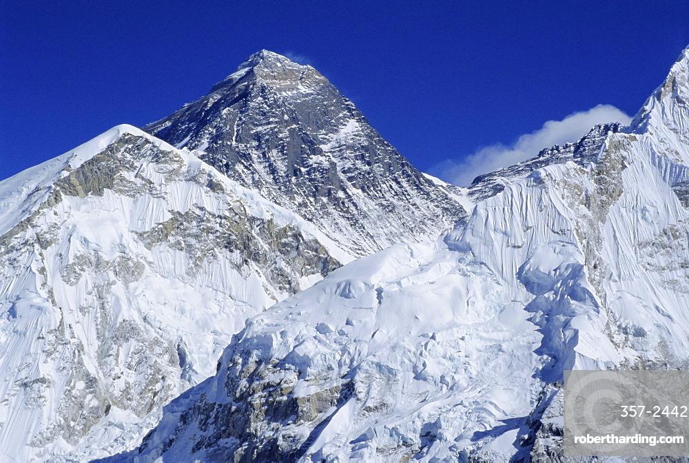 Mount Everest from Kala Pata, Himalayas, Nepal, Asia
