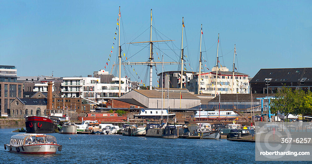 Floating Harbour with SS Great Britain
