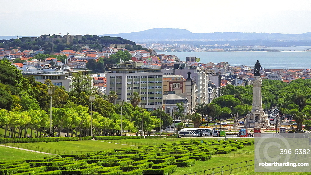 Parque Eduardo VII, Lisbon, Portugal, Europe