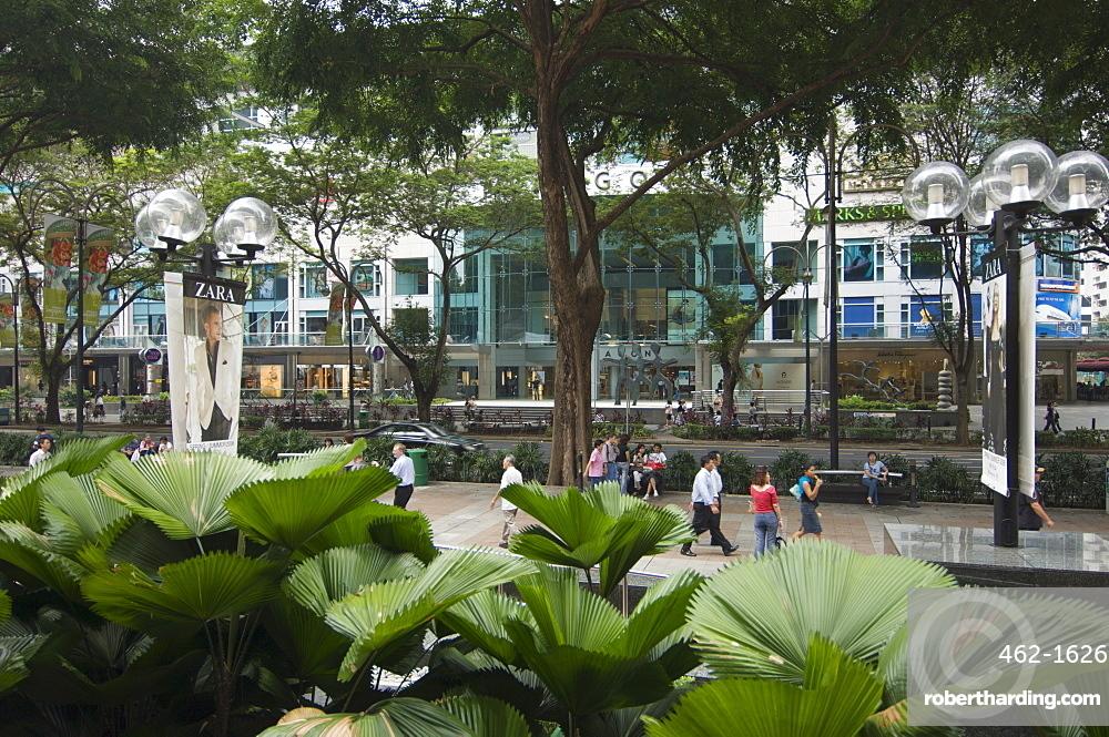 Orchard Road, Singapore's premier shopping street, Singapore, Southeast Asia, Asia