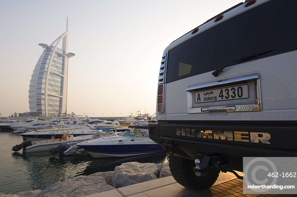 Burj Al Arab Hotel, Dubai, United Arab Emirates, Middle East