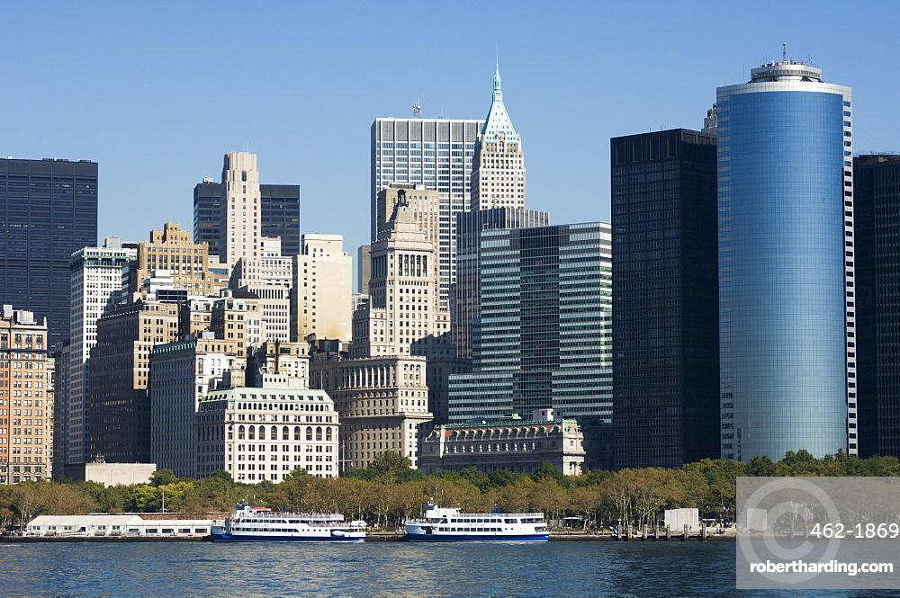 Battery Park and Lower Manhattan, New York City, New York, United States of America, North America