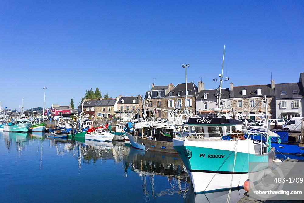 Paimpol harbour, Cote de Goelo, Brittany, France, Europe