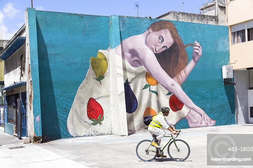 Graffiti, Montevideo, Uruguay, South America