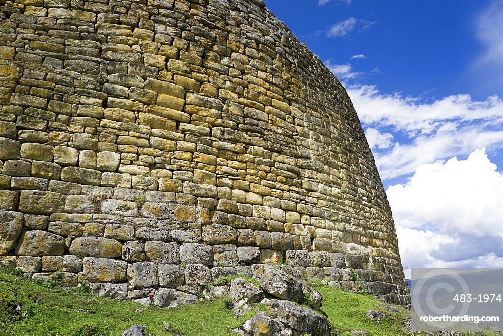 Kuelap, precolombian ruin of citadel city, Chachapoyas, Peru, South America