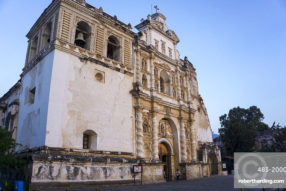 San Francisco church, Antigua, UNESCO World Heritage Site, Guatemala, Central America