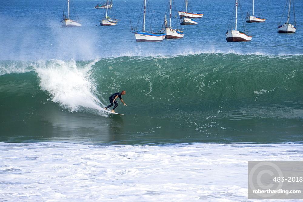 Cabo Blanco, sea and surfing, Peru, South America