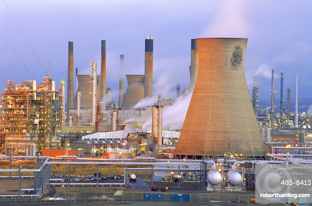 BP Chemicals' Petrochemicals Plant, Grangemouth, Falkirk, Stirlingshire, Scotland, UK