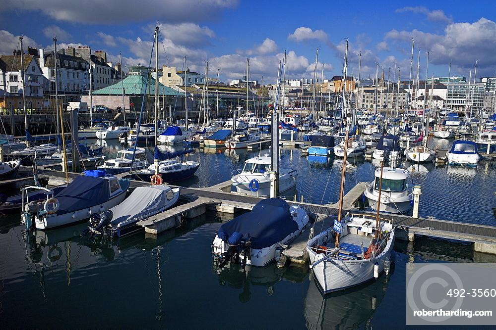 Sutton Harbour Marina, Plymouth, Devon, England, United Kingdom, Europe