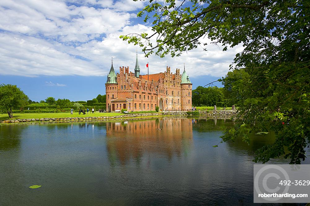 Egeskov Castle (Egeskov Slot), Funen, Denmark, Europe