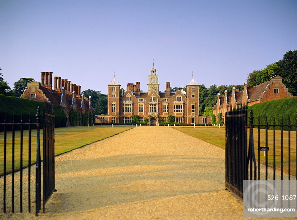 Blickling Hall, Norfolk, England, UK, Europe