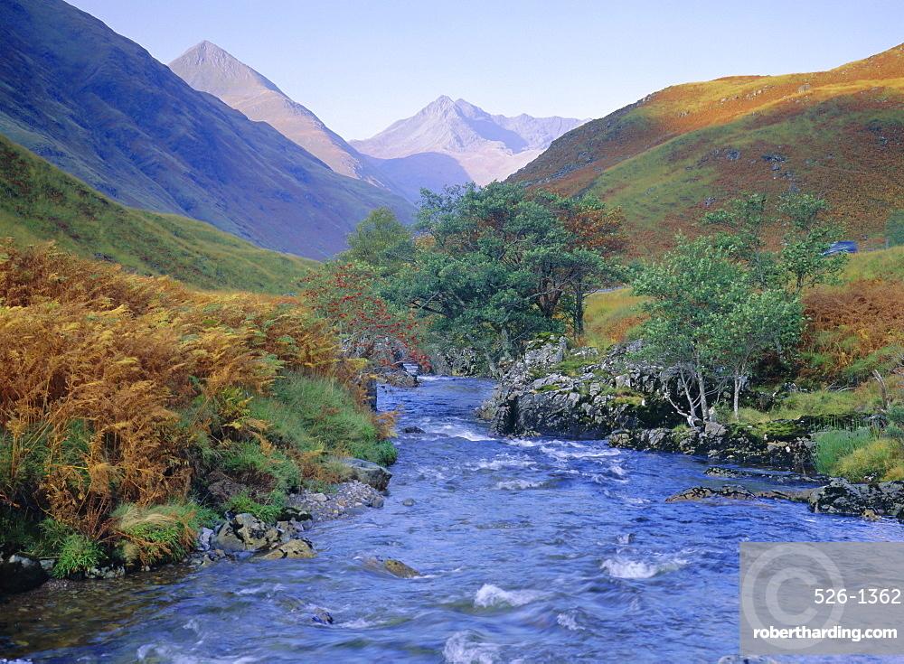 Glen Shiel, north west Highlands, Highlands Region, Scotland, UK, Europe