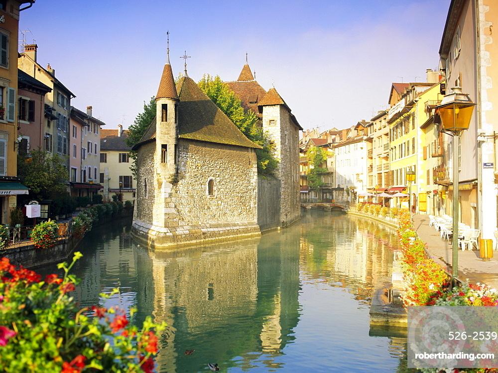 Palais de l'Isle, Annecy, Haute Savoie, Rhone Alps, France, Europe