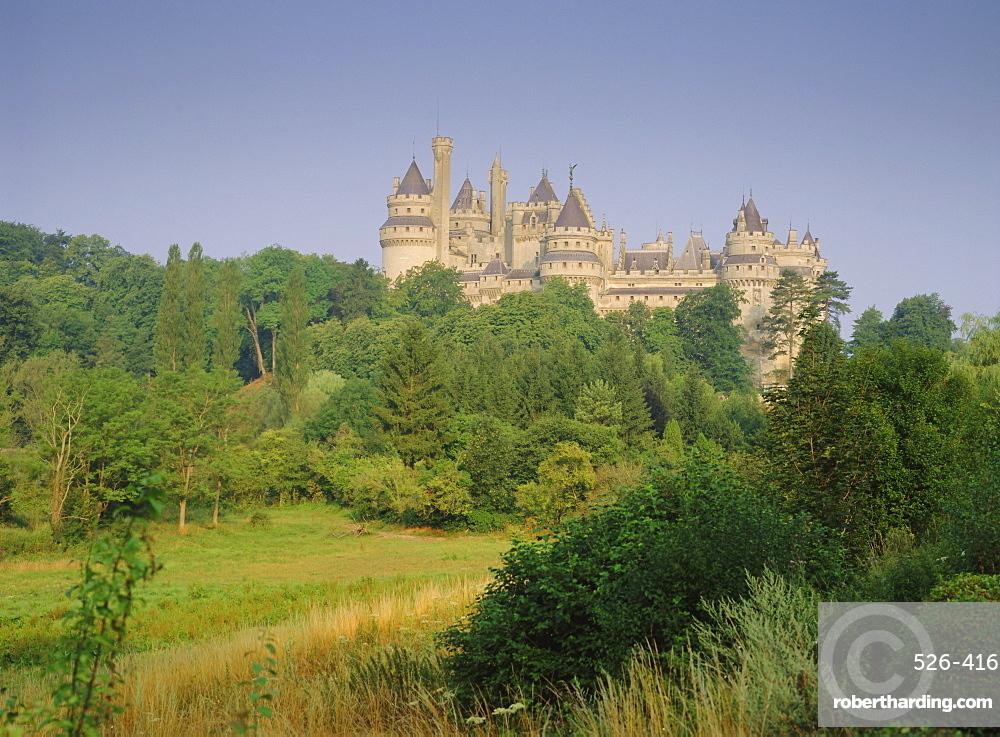 Pierrefonds Castle, Picardy, France, Europe