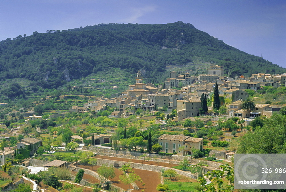 Valldemossa, Majorca (Mallorca), Balearic Islands, Spain, Europe