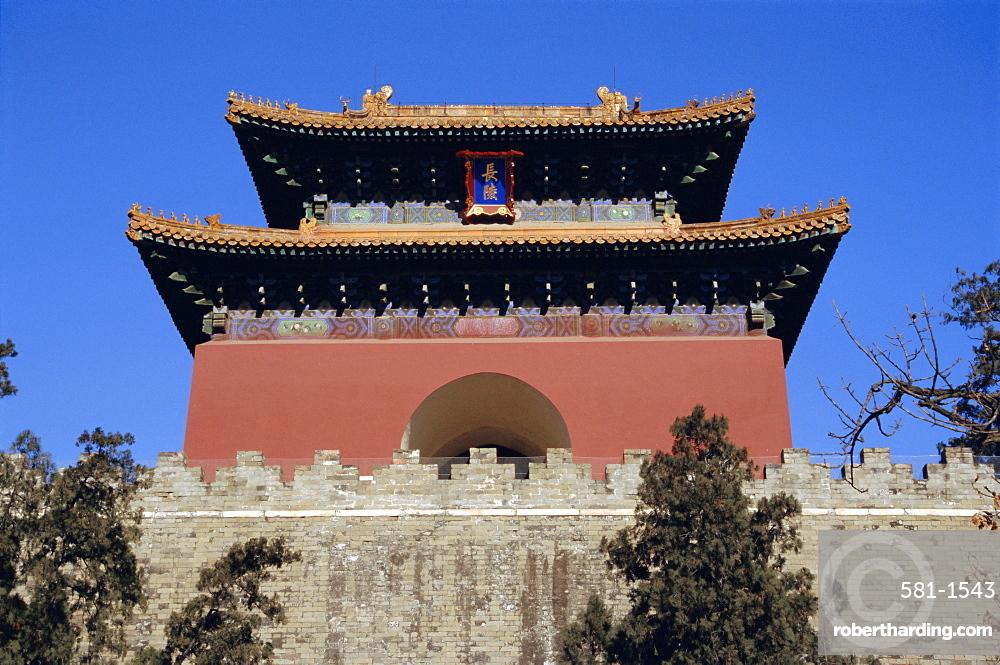 Ming Tomb, Chang Ling, Beijing, China, Asia