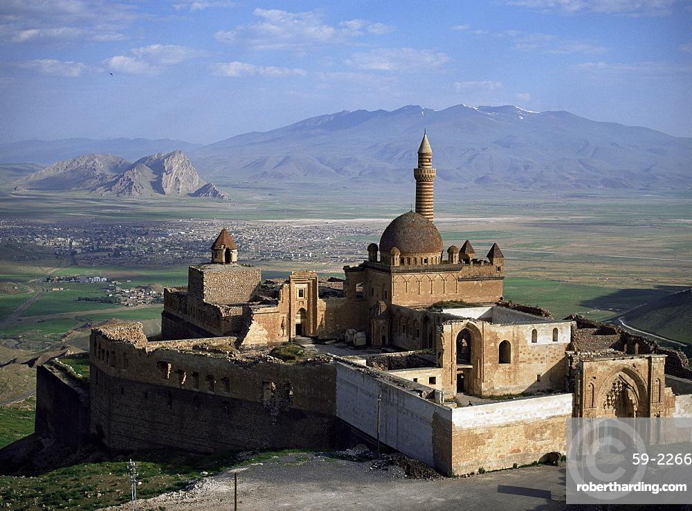 Ishak Pasa Palace, dating from around 1785, Dogubayazit, Anatolia, Turkey, Asia Minor, Eurasia