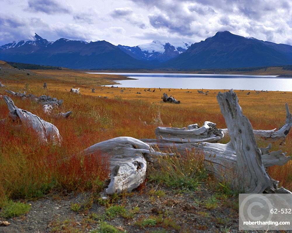 Lake Roca, Calafate Roca National Reserve, Patagonia, Argentina, South America