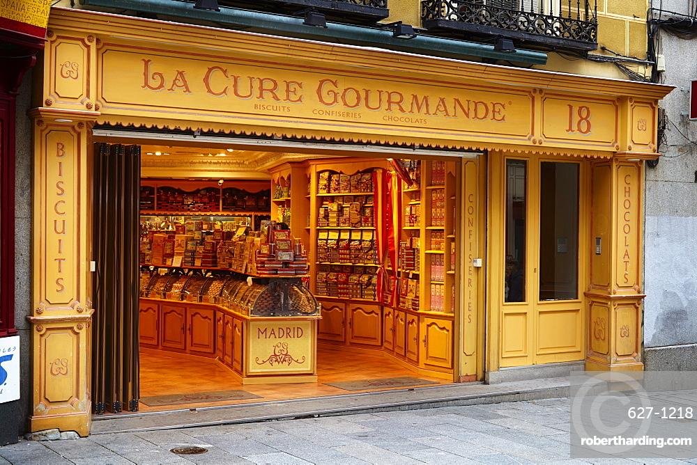 La Cure Gourmande biscuit shop, Madrid, Spain, Europe