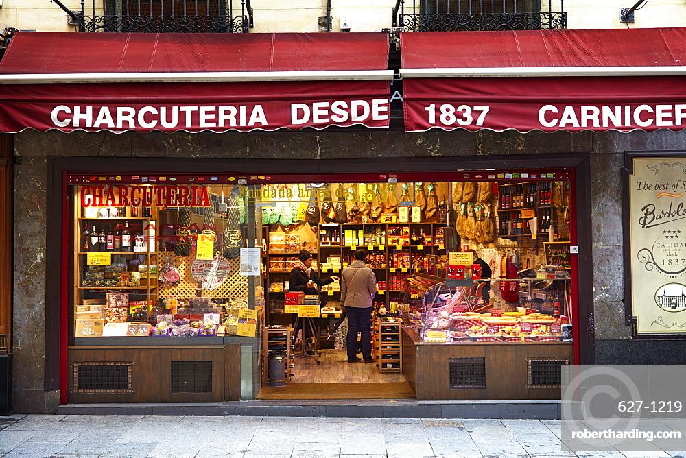 Charcuteria, Madrid, Spain, Europe