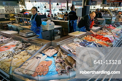 Fish Market, Bergen, Hordaland, Norway, Scandinavia, Europe