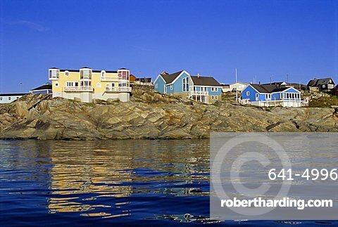 Town of Ilulissat, formerly Jacobshavn, west coast, Greenland, Polar Regions