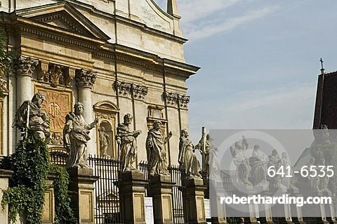 St. Peter and St. Paul's church, famous for its statues of the Apostles, Grodzka Street, Krakow (Cracow), UNESCO World Heritage Site, Poland, Europe