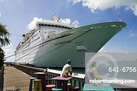 Cruise ship, Key West, Florida, United States of America, North America